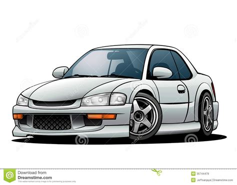 jdm sports car  stock vector illustration  isolated