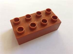 lego duplo baustein 2x4 braun pracht steine de