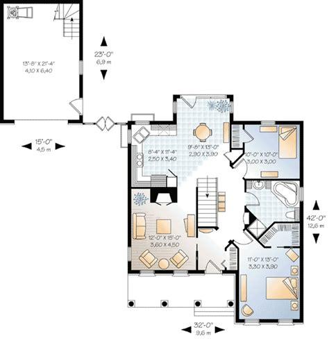 detached garage floor plans european house plans with detached garage cottage house