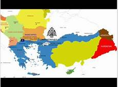 Balkan Map 2030 Megali Idea Comments not in Greek or