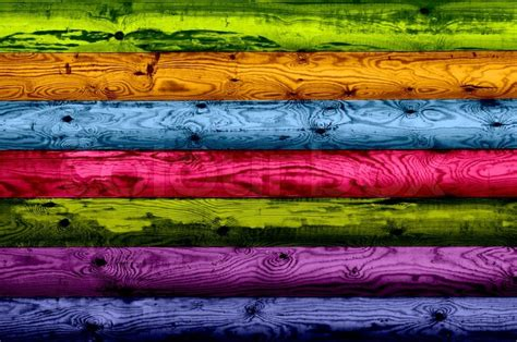 multicolored wood planks  background stock photo