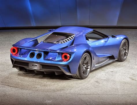 2017 Ford Gt Release Date, Price And Specs