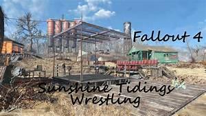 Fallout 4 - Sunshine Tidings Wrestling settlement tour ...