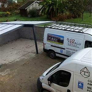 Carport Camping Car Alu : carport en aluminium pour voiture et camping car decofer ~ Dailycaller-alerts.com Idées de Décoration
