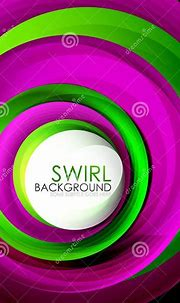 Spiral Swirl Flowing Lines 3d Effect Abstract Background ...