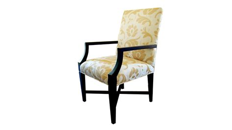plush home laurier dining arm chair