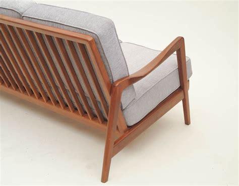 Dux Mid Century Scandinavian Design Wood Frame Sofa, 1960s