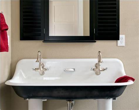 or 2 faucet version kohler trough sink google search