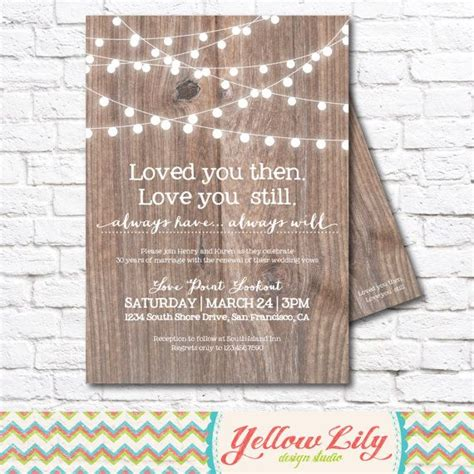 Vow Rene L Invitations On Pinterest  Ee  Wedding Ee   Rene L