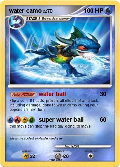 Maybe you would like to learn more about one of these? Pokémon water camo - water ball - My Pokemon Card