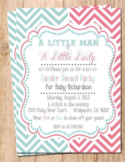 gender reveal invitation template free free printable gender reveal invitations