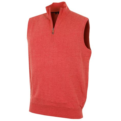 mens sweater vest bobby jones 2016 mens merino 1 4 zip lined vest sweater