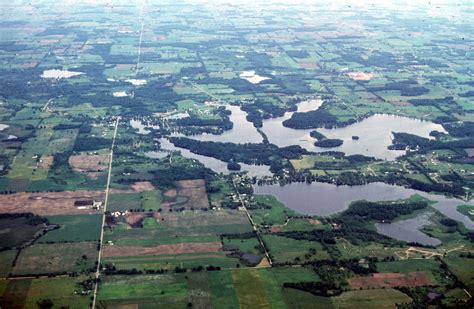 kettle lakes michigan argentine outline near