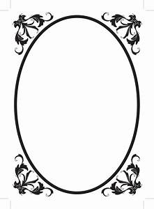 filigree border clipart best With filigree border designs