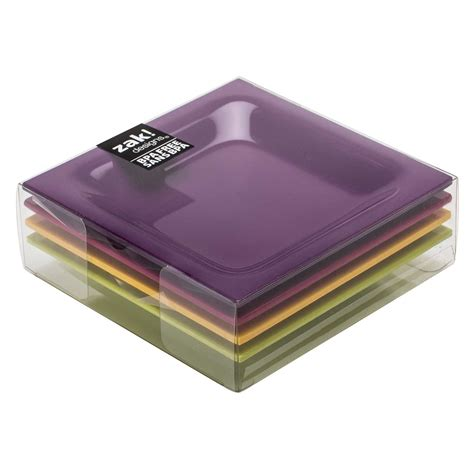 Square Appetizer Plates by Zak Designs