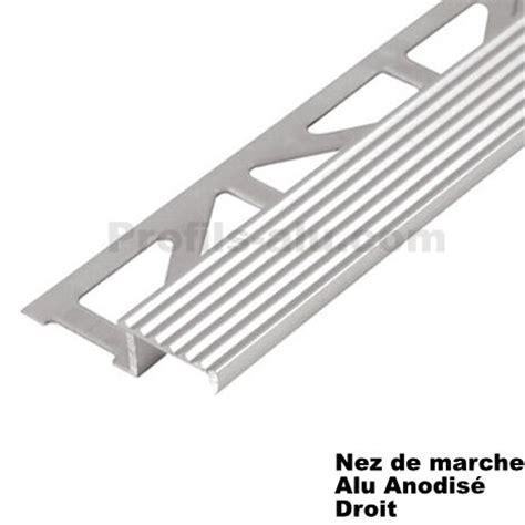 nez de marche alu nez de marche decoratif alu anodise droit pour vos escaliers www profils alu