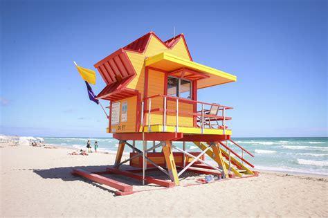 level house plans miami unveils lifeguard towers cbs miami