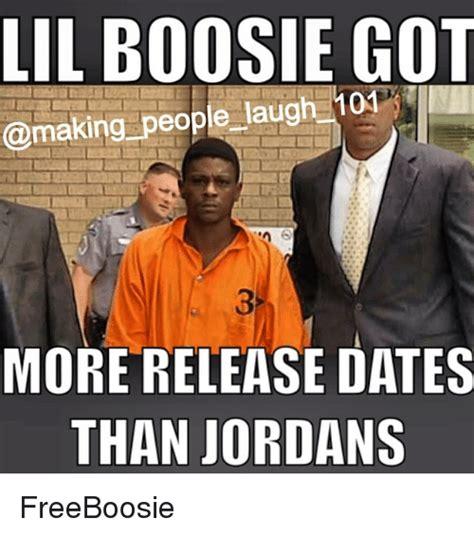 Lil Boosie Memes - lil boosie got making people laug more release dates than jordans freeboosie dating meme on sizzle