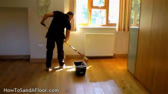 how to refinish a wood floor without sanding youtube