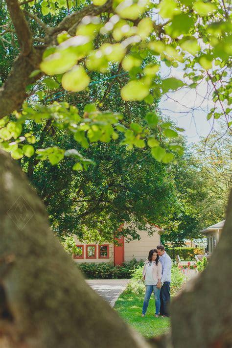 toledo botanical gardens wedding engagement portraits