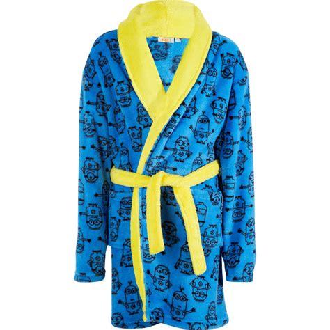 robe de chambre garcon polaire peignoir en polaire 39 minions 39 garçon kiabi 18 00