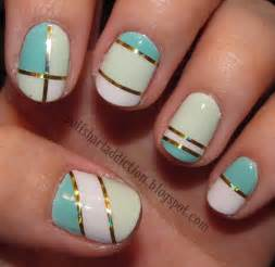 Concept as using scotch tape on your nails but without the pain of