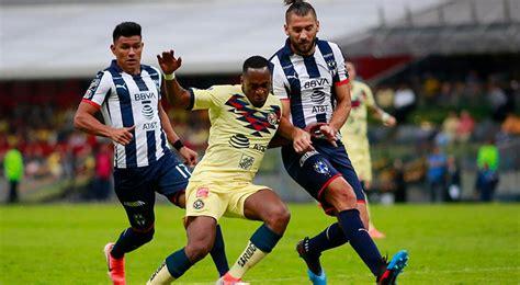 Consulta sus horarios y en los partidos de hoy encontrarás 23 partidos de fútbol en directo de liga santander, ligue 1. Partidos de HOY EN VIVO América vs. Monterrey Liga MX 2019   Final fútbol mexicano resultado ...