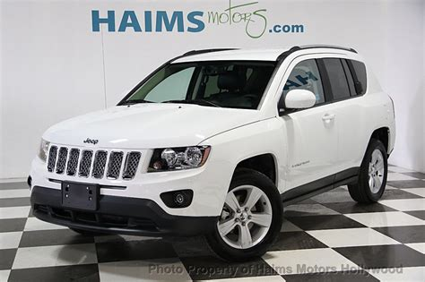 used jeep compass 2016 used jeep compass 4wd 4dr latitude at haims motors