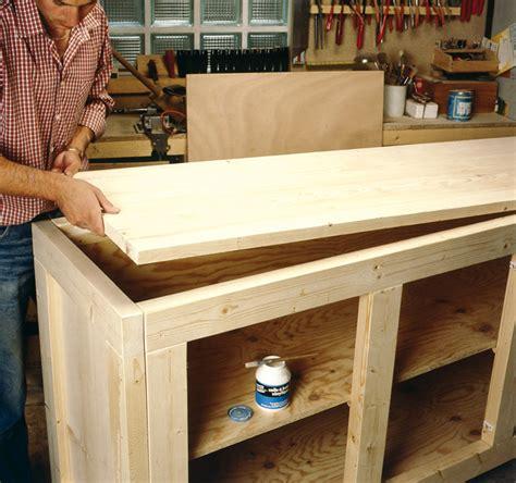 buffet cuisine en bois comment fabriquer un meuble de rangement en bois