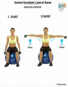 Dumbbell Lateral Raise - Seated | Lateral raises ...