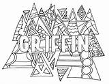 Coloring Griffin Printable Adult Tabitha Adults Drawing Steviedoodles sketch template