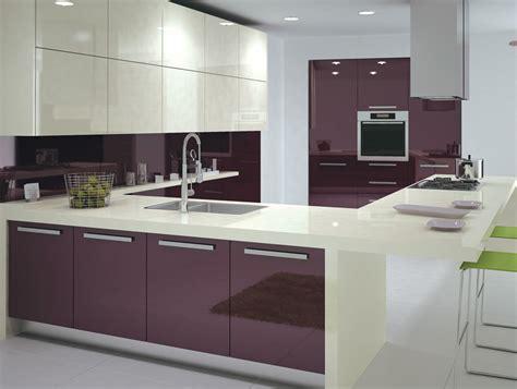 black shiny kitchen cabinets purple high glossy kitchen design ipc408 high gloss 4743