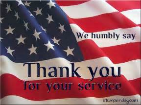 Veterans Day Thank You for Your Service