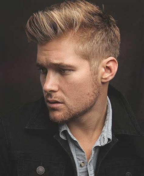 summer trend blonde hairstyles  men mens