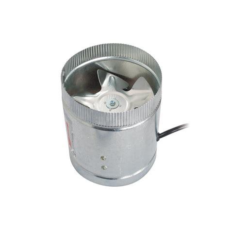 7 duct booster fan hydro crunch 100 cfm 4 in inline duct booster fan for