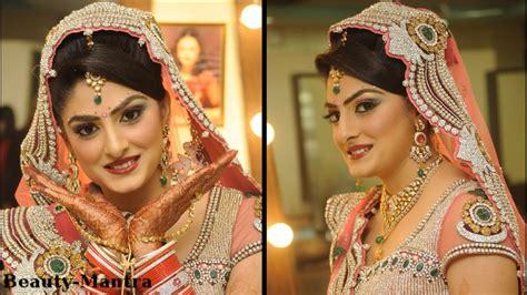 indian bridal makeup  shades  pink youtube