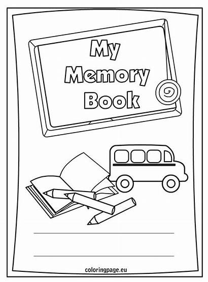 End Memory Printable Coloring Pages Preschool Sheets