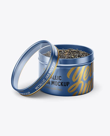 Includes special layers and smart objects for your work.this mockup is metallic mascara tube mockup in tube mockups on yellow images object mockups. 50g Open Metallic Jar With Clear Glass Window Mockup (high ...