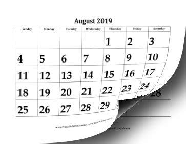 printable large academic calendar