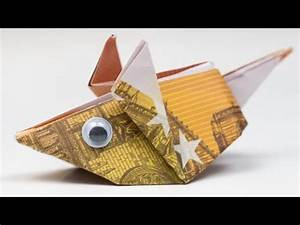 Geld Falten Mäuse Zum Verbraten : geldgeschenk idee maus falten origami anleitung best of utube ~ Orissabook.com Haus und Dekorationen