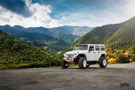 jeep wrangler car suv mountain landscape tuning avtooboi