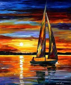 Leonid Afremov, oil on canvas, palette knife, buy original paintings, art, famous artist