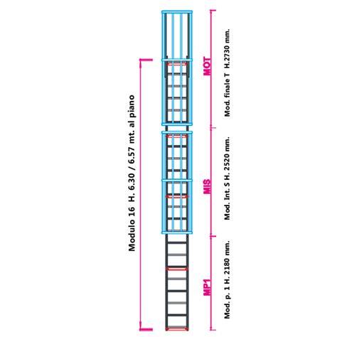 Scala Con Gabbia Scale Con Gabbia Di Protezione Modulare N 176 16