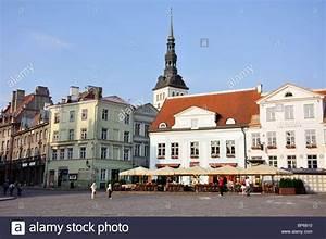 Raekoja Plats  Old Town  Tallinn  Harju County  Republic Of Estonia Stock Photo  30870812
