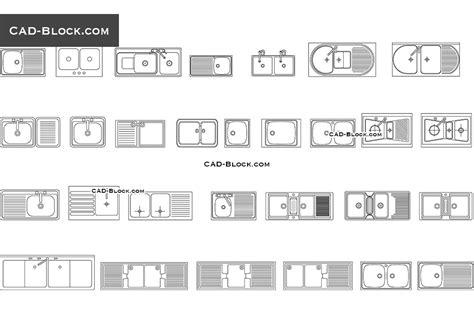 kitchen sink cad block kitchen sink set free autocad blocks cad dwg file 5672