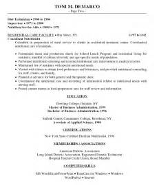 resume format for hospital 12 food service resume sles financial statement form