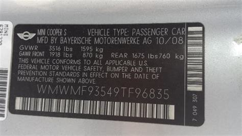 09 jcw silver paint code north american motoring
