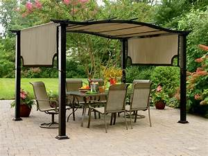 Garden Oasis 8 ft. x 10 ft. Curved Pergola Canopy