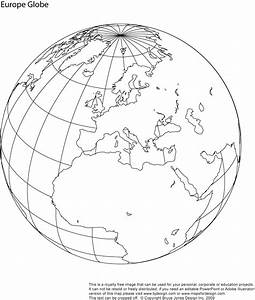 Blank Map Of The Globe