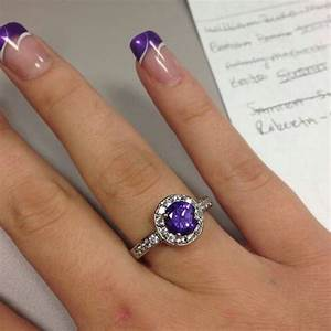Is it bad to want a purple French manicure for prom ...
